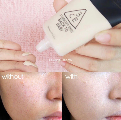 Kem Nền BB Cream 3CE Back To Baby SPF35 PA++ 30ml
