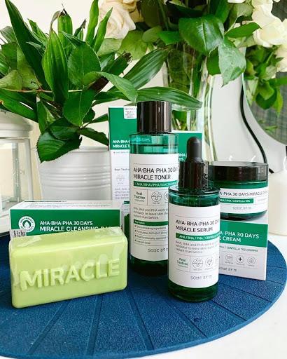 Set Trị Mụn SOME BY MI AHA-BHA-PHA 30 Days Miracle 4 món