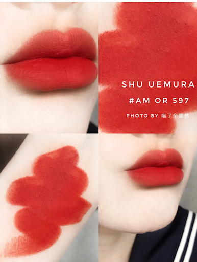Son Shu Uemura Rouge Unlimited Amplified Matte AM OR 597