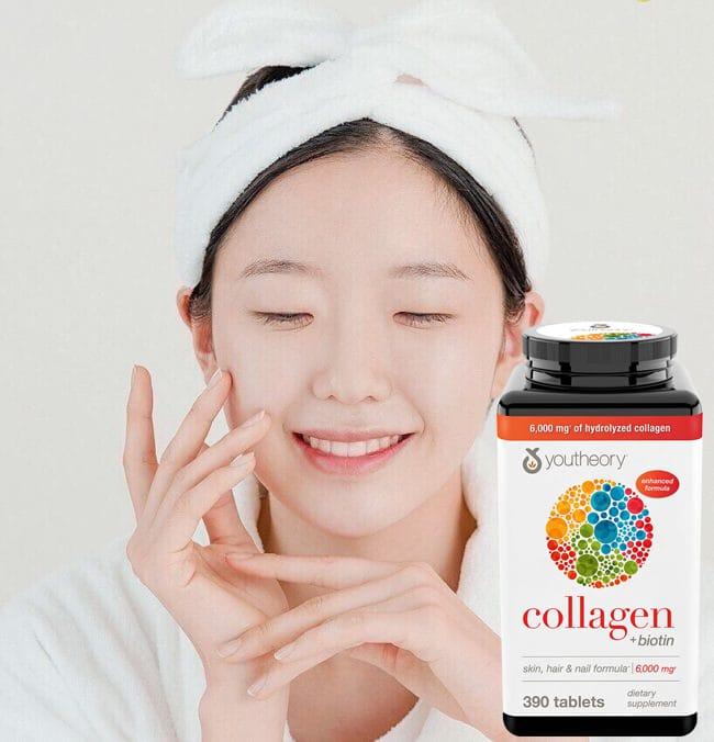 TPCN Collagen Youtheory (390 Viên) Mẫu Mới 2020
