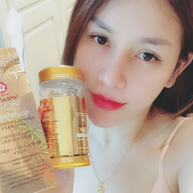 Viên Uống trắng da Tatio Active Gold Glutathione 60 Viên