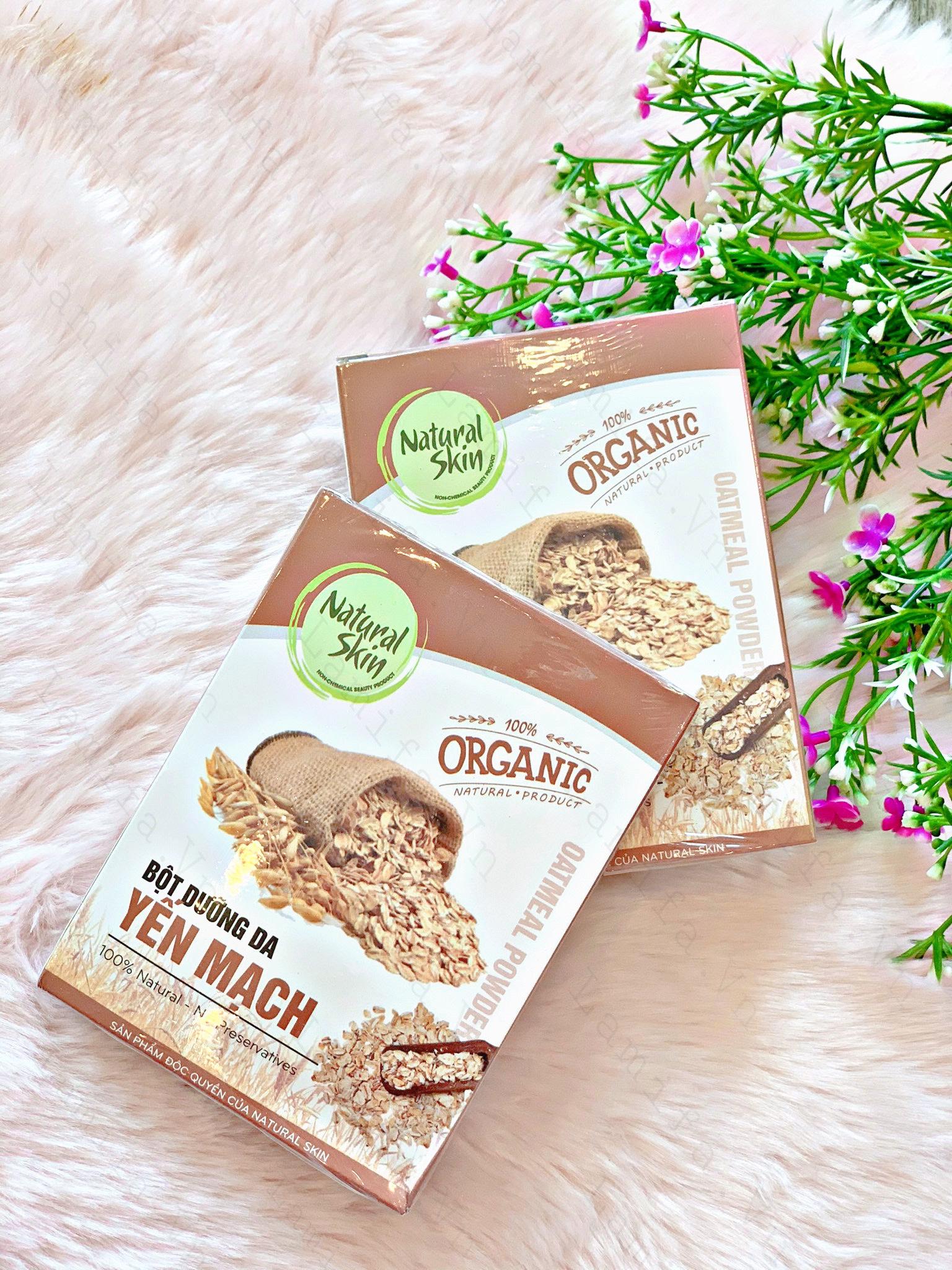 Bột Yến Mạch NatuRal Skin Organic