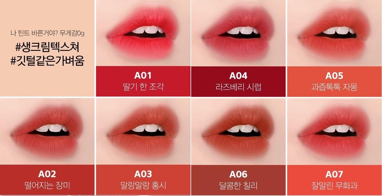 Son Black Rouge Airfit Velvet A06