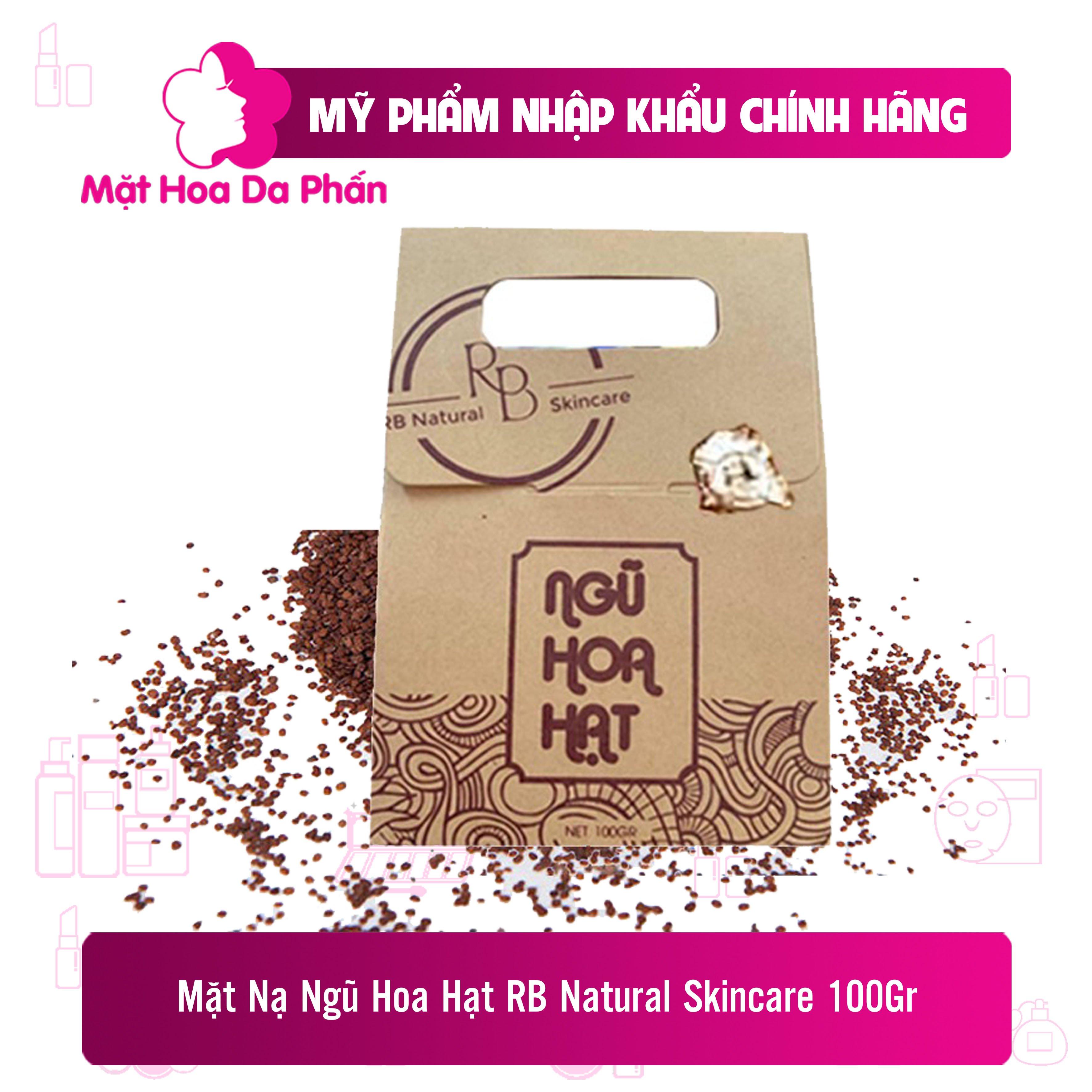 Mặt Nạ Ngũ Hoa Hạt RB Natural Skincare 100g