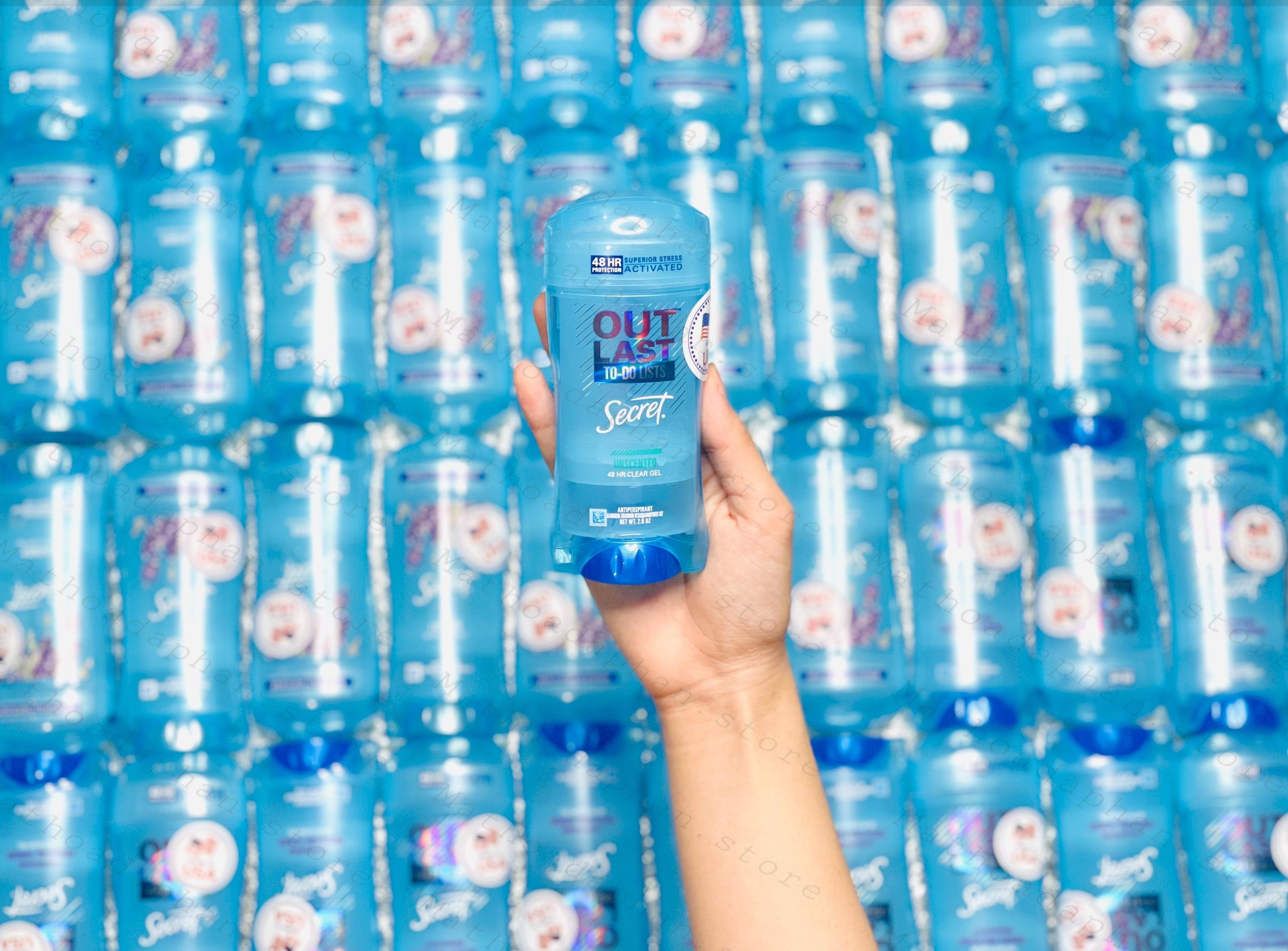 Lăn Khử Mùi Secret Clear Gel Outlast - Protecting Powder 73G