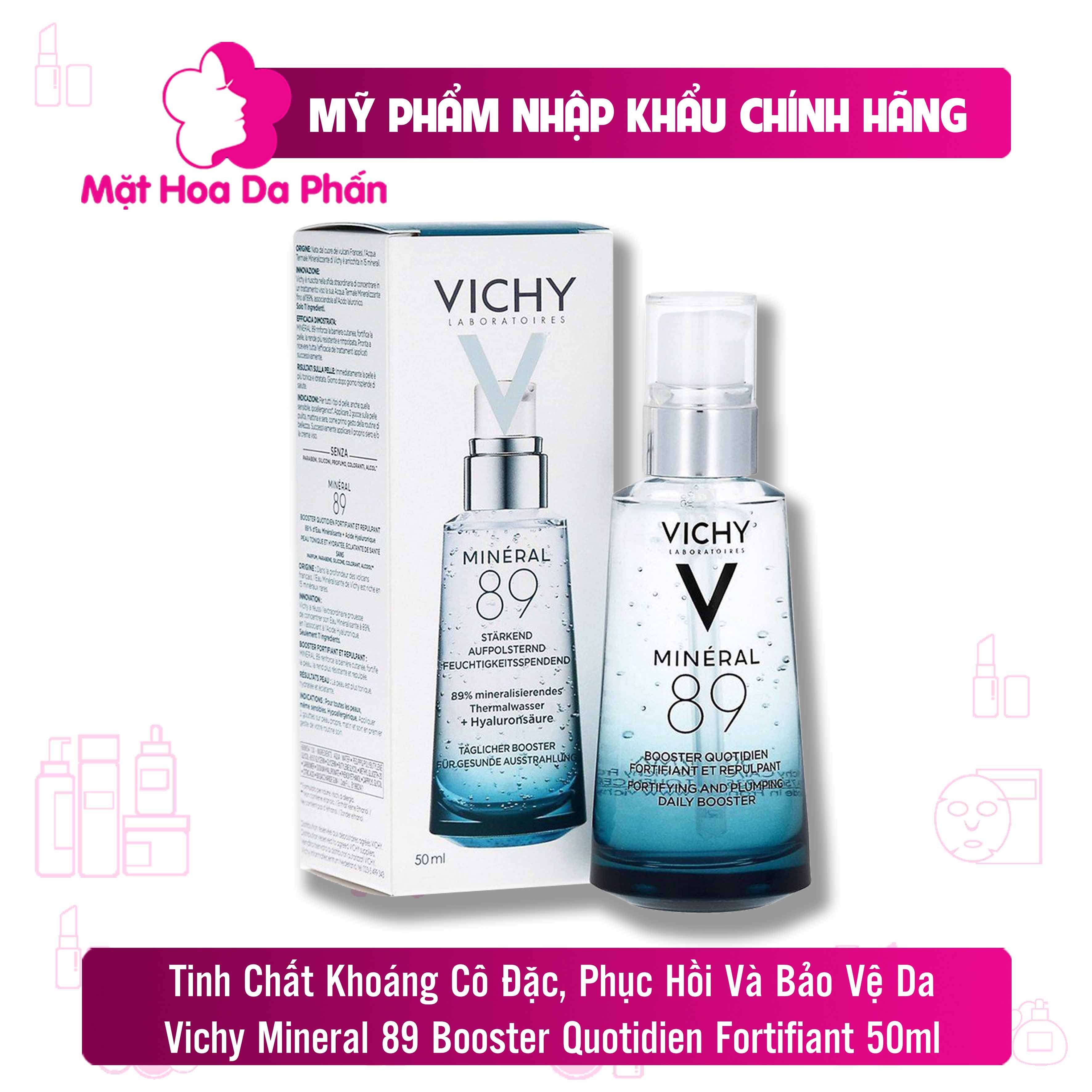 Tinh Chất Vichy Mineral 89 Booster Quotidien Fortifiant 50ml CTY