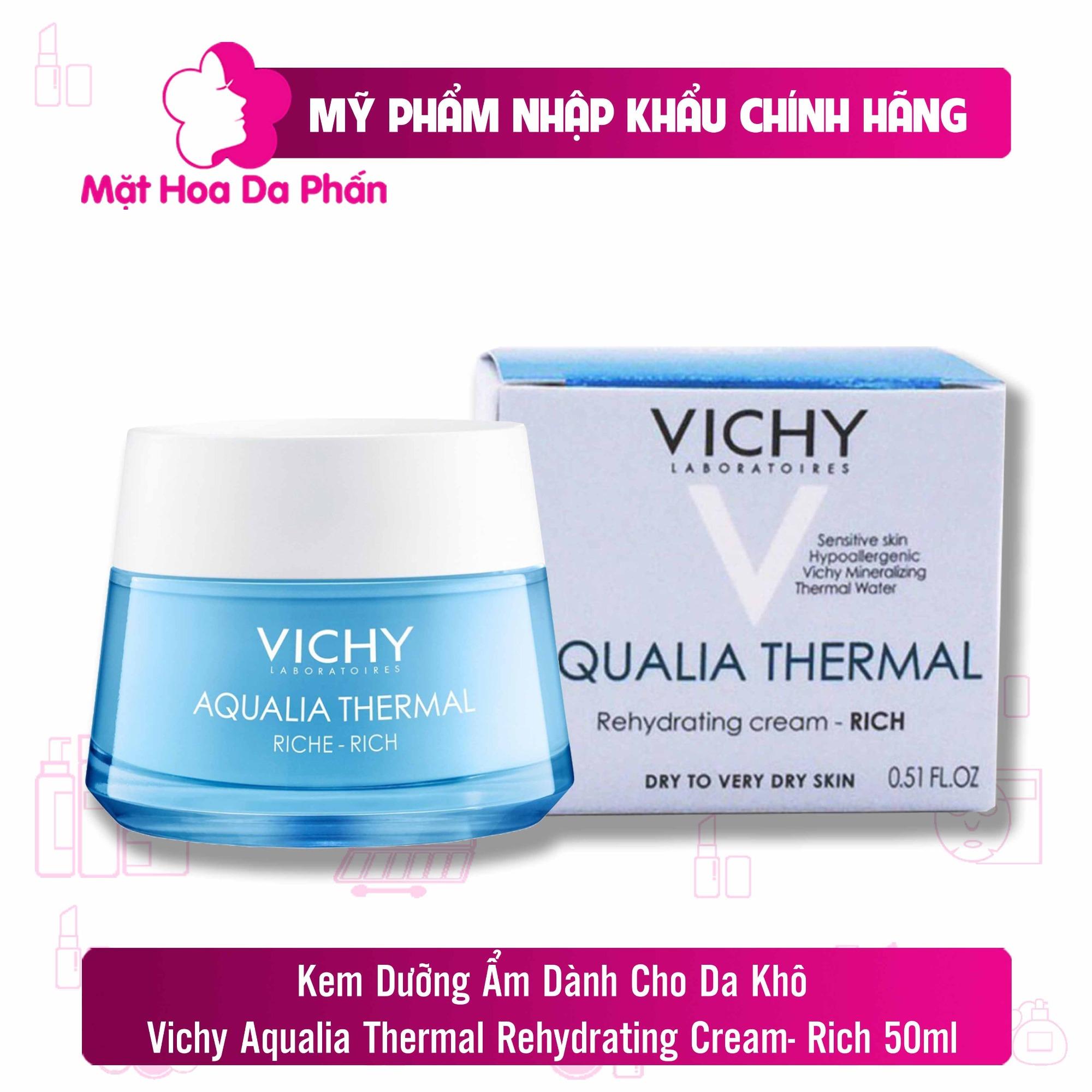 Kem Dưỡng Vichy Aqualia Thermal Rehydrating Cream- Riche 50ml