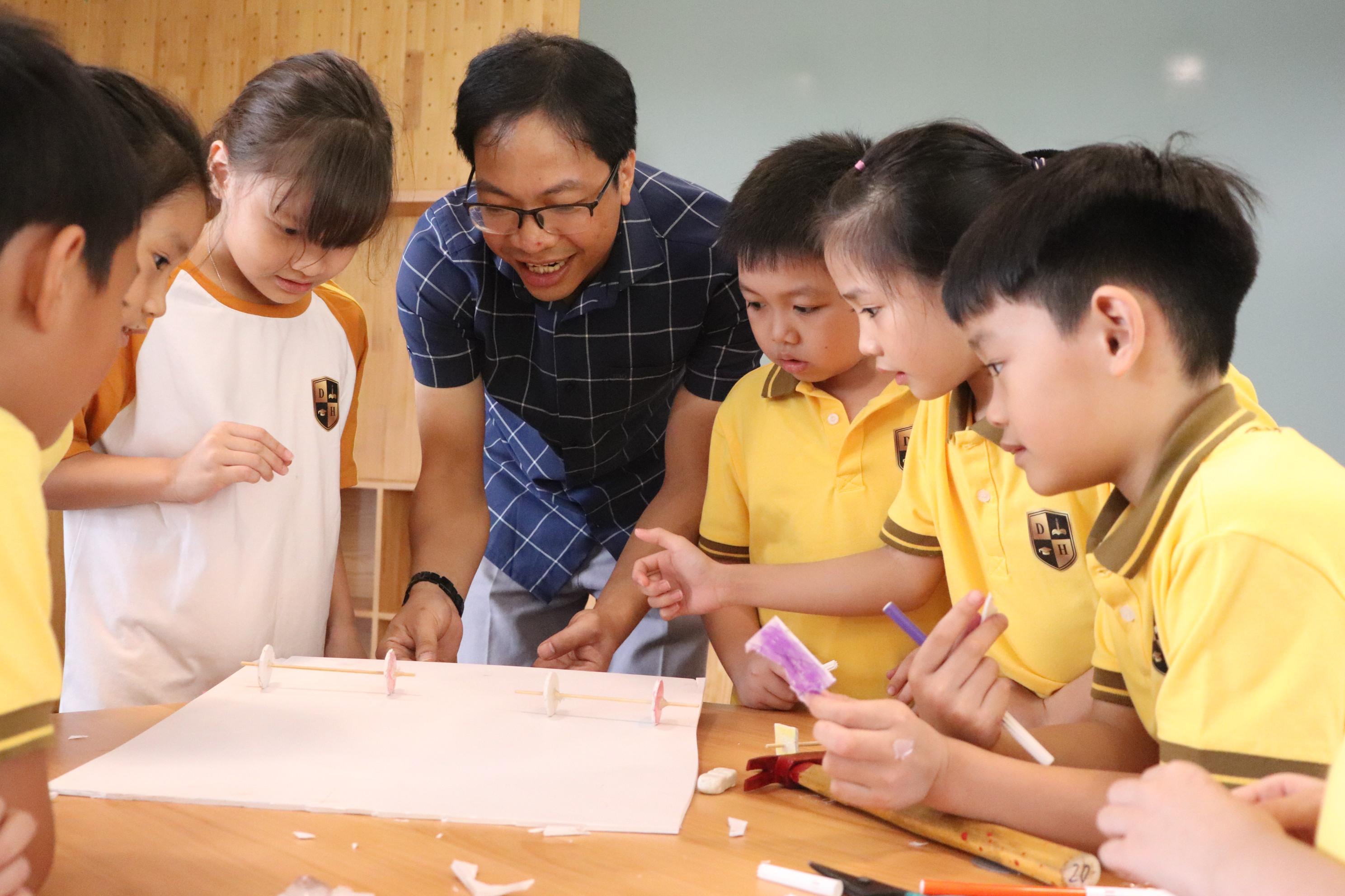 dạy học stem môn toán