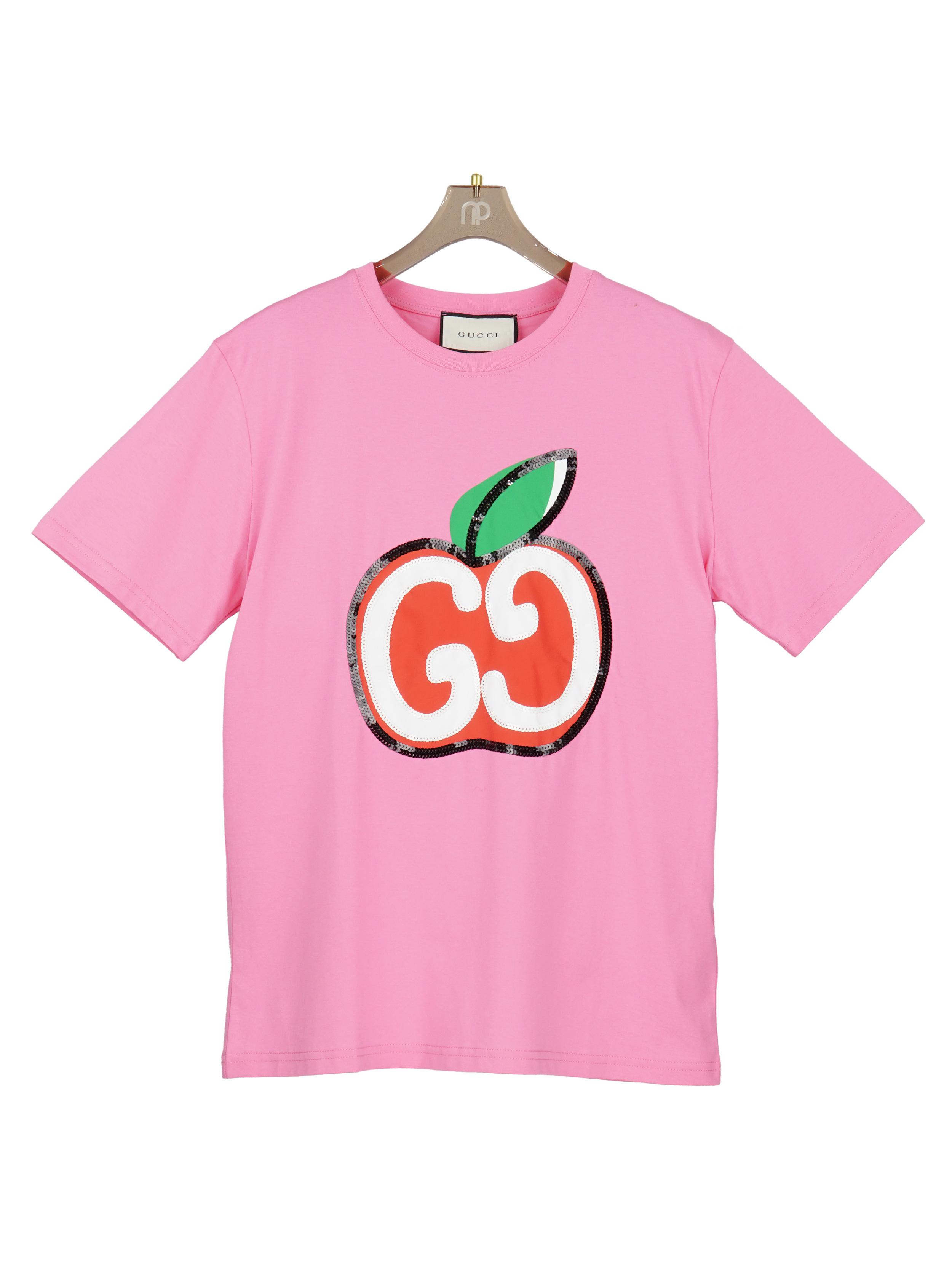 Áo thun táo đỏ - Hồng