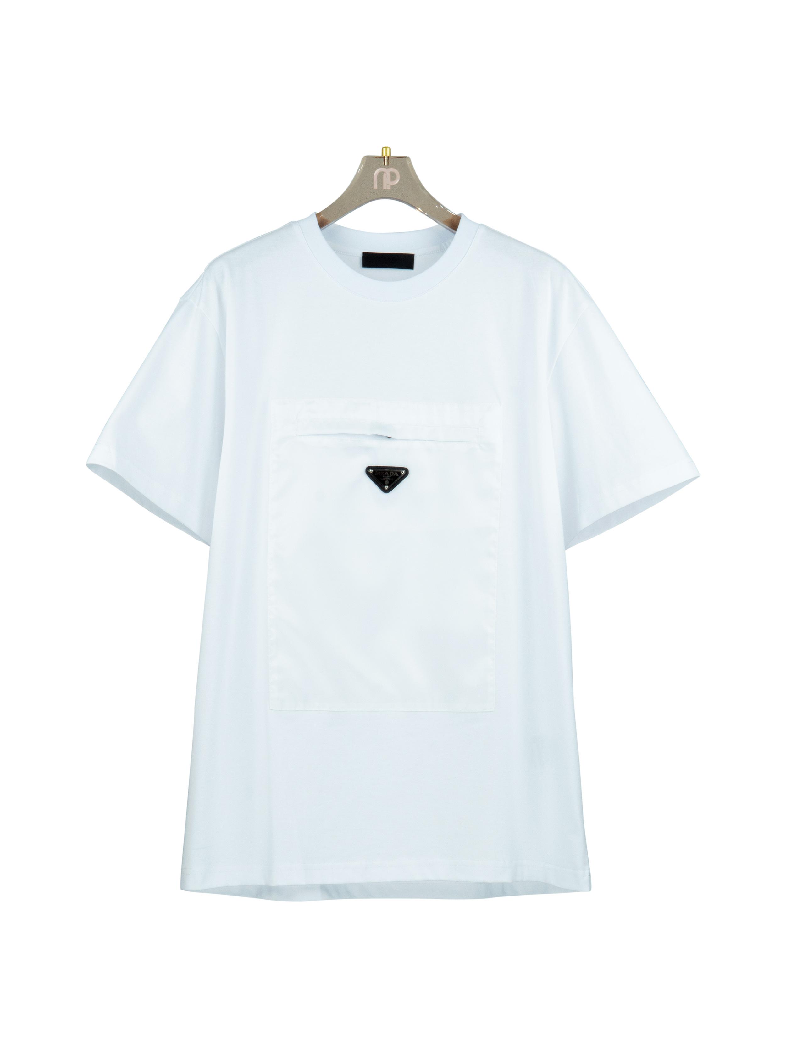 Áo thun túi vải dù - Đen
