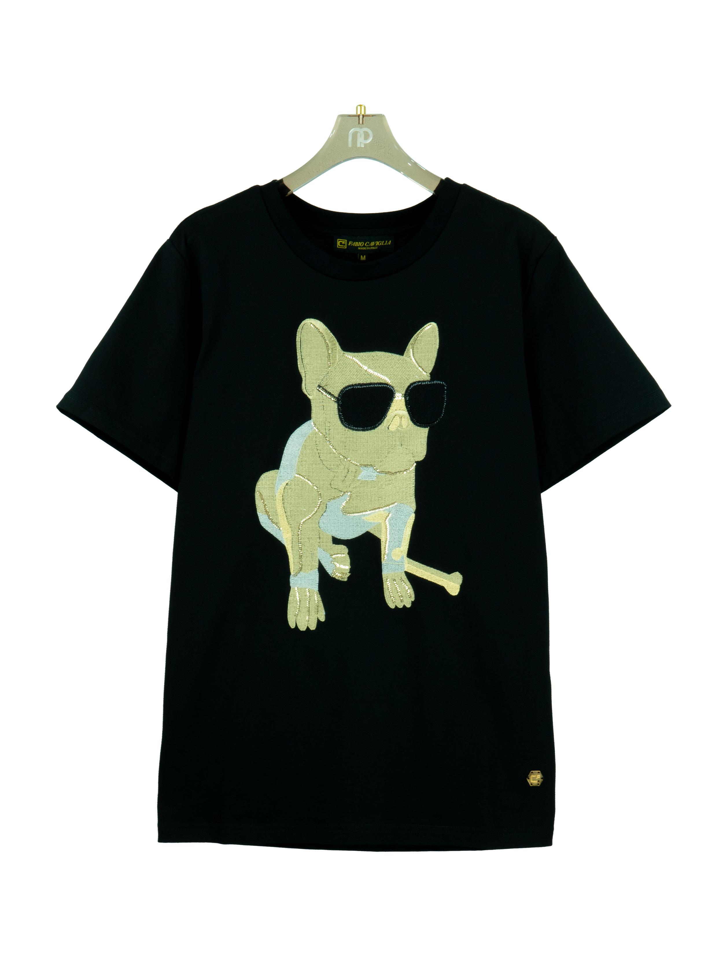 Áo thun Dog Gold