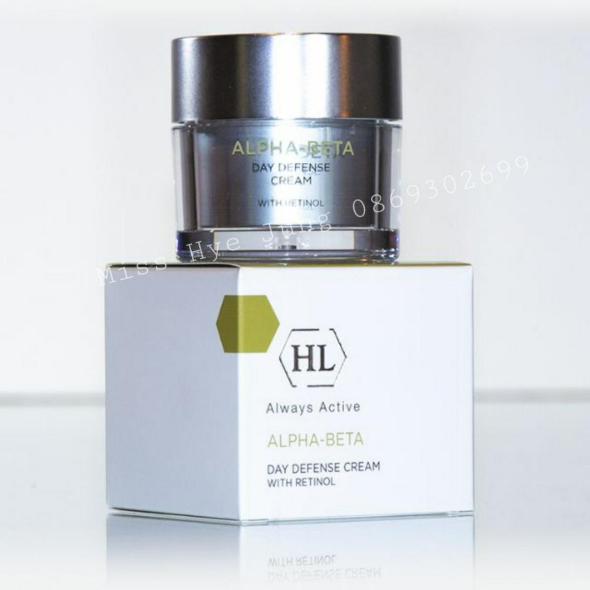 Kem trẻ hóa ban ngày HL Alpha-Beta Day Defense Cream with Retinol 50ml