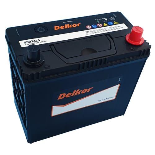 bình ắc quy Delkor 55B24L/S