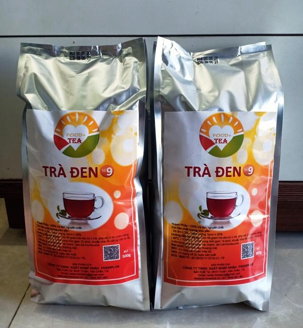 Trà Đen - Hồng Trà Số 9 FOOD+TEA,  Pha Trà Sữa, Làm Trà KOMBUCHA  500g.