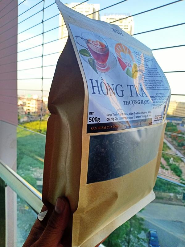 Trà Đen (Hồng Trà) THƯỢNG HẠNG Pha Trà Sữa, Làm Trà KOMBUCHA  500g FOO+TEA.