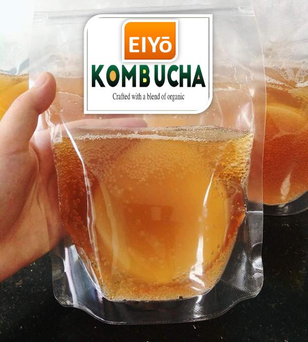 Giống SCOBY ORGANIC Làm Trà Kombucha ( Sản phẩm của EIYO TEA - Nuôi cấy theo công nghệ Nhật Bản ).