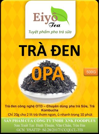 Trà Đen OPA - Lên Men Truyền Thống.
