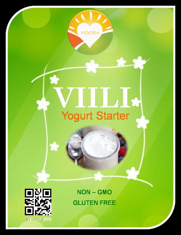 VIILI YOGURT STARTER - ORGANIC ( Men Bột )