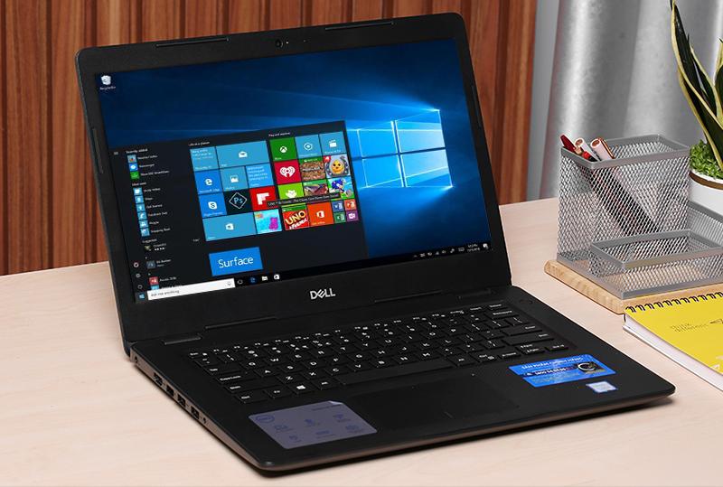 Laptop Dell Vostro 3480 cài sẵn hệ điều hành Windows 10
