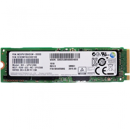 Samsung - SSD 256GB M2 PCIe3x4 For Laptop. Model: PM981
