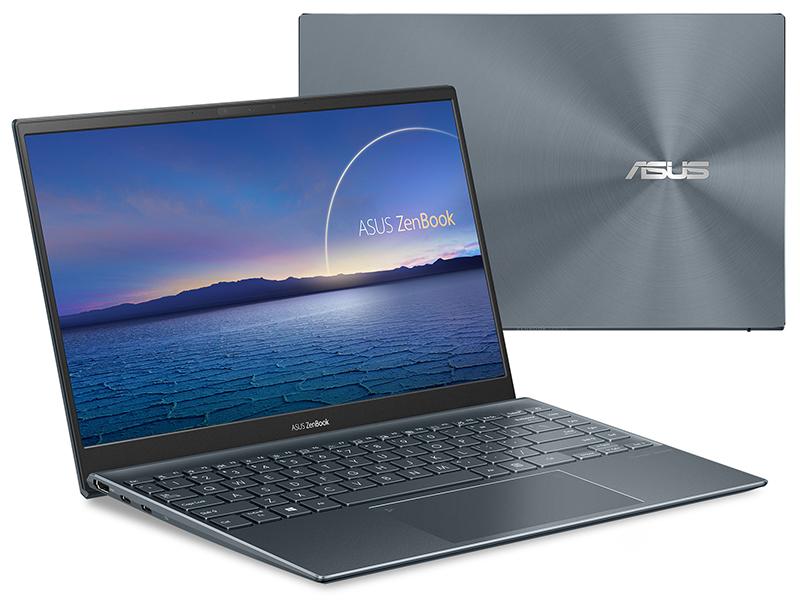 LAPTOP ASUS Zenbook UM425UA - AM501T (Grey)   R5-5500U   8GB DDR4   SSD 512GB PCIe   VGA Onboard   14.1 FHD   Win10.