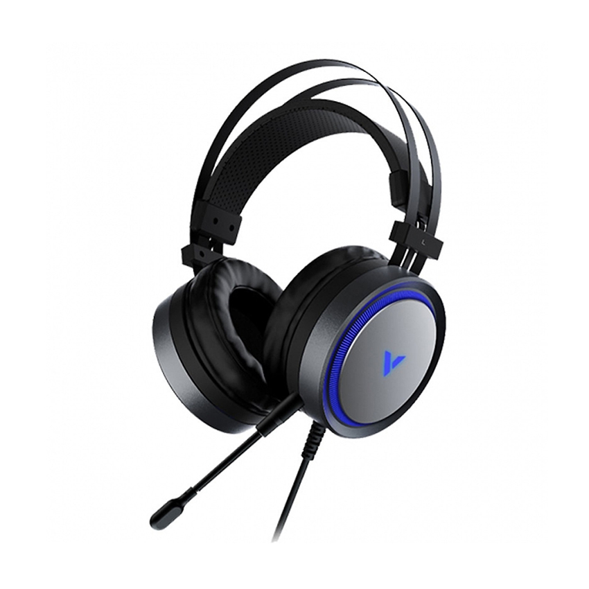 RAPOO - Headset Gaming VH500C with Virtual 7.1, RGB led (Black)