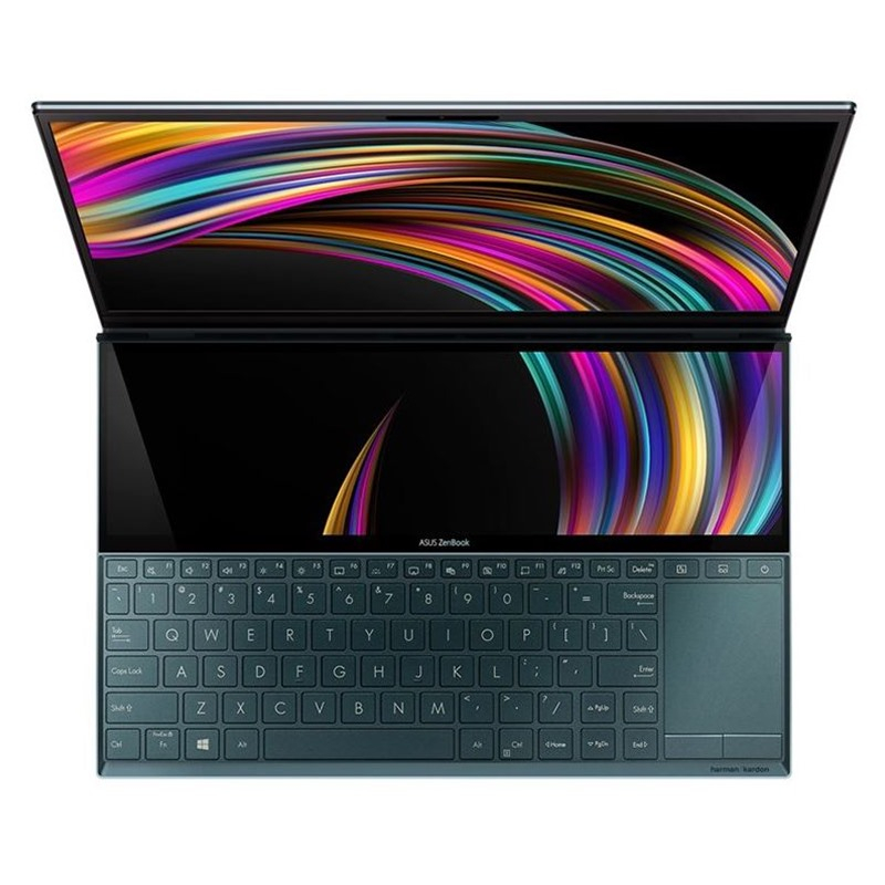Asus Zenbook Duo UX581GV-H2029T | i7-9750H | 32GB DDR4 | SSD 1TB PCIe | VGA RTX 2060 6GB | 15.6 UHD 4K Touch | Win10. [DEAL GIÁ MUA]