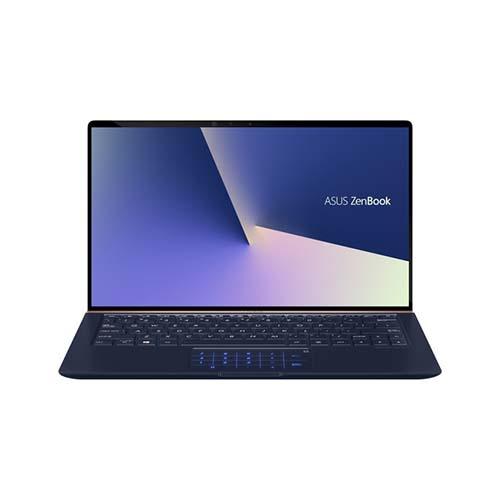 Asus Zenbook UX333FA-A4116T (Blue)   i7-8565U   8GB LPDDR3   SSD 512GB PCIe   VGA Onboard   13.3 FHD IPS   Win10   Numpad. >>> Deal giá mua, Trả góp 0%