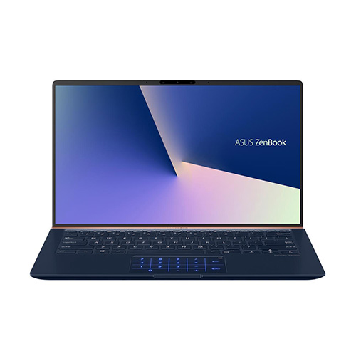 Asus Zenbook UX433FA-A6105T (Blue)   i5-8265U   8GB LPDDR3   SSD 512GB PCIe   VGA Onboard   14.1 FHD IPS   Win10   Numpad. >>> Deal giá mua, Trả góp 0%