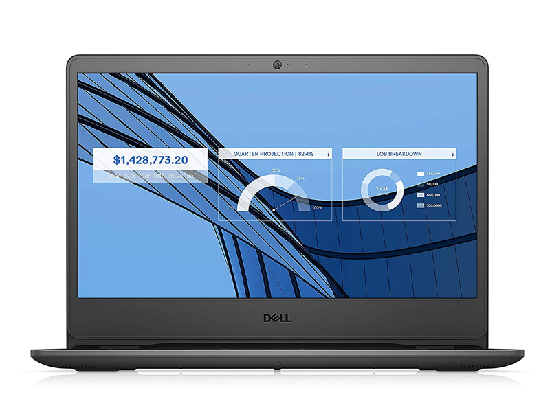 Dell Vostro 3401 - 70227392 (Black) | i3-1005G1 | 4GB DDR4 | SSD 256GB + 1TB HDD | VGA Onboard | 14.1 FHD | Win10. [DEAL GIÁ MUA]