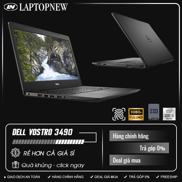 Dell Vostro 3490-70211829 (Black) | i3-10110U | 4GB DDR4 | SSD 256GB PCIe | VGA Onboard | 14.1 FHD | Win10. [DEAL GIÁ MUA]