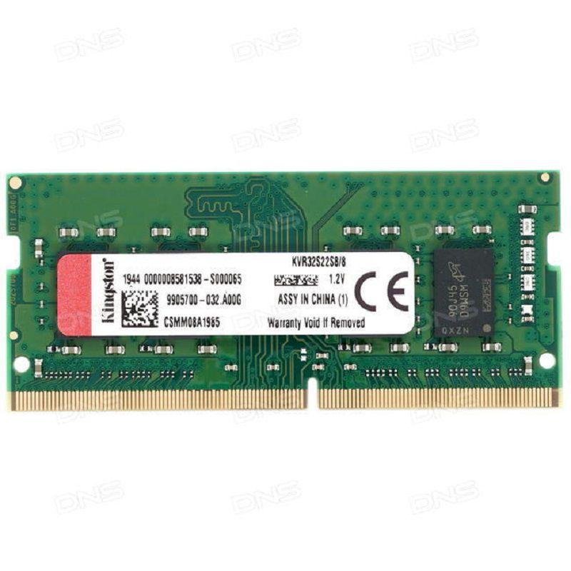 RAM - Kingston 8GB DDR4 3200MHz For Laptop