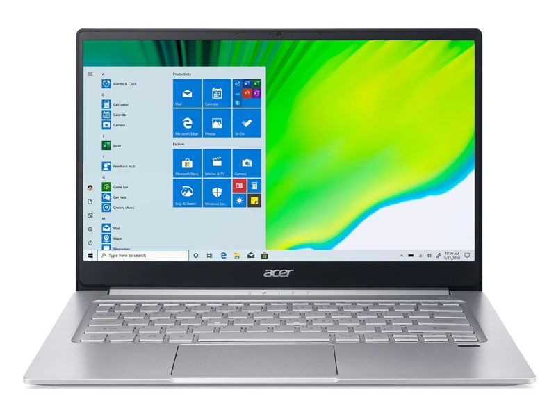 LAPTOP ACER Swift 3 SF313-53-503A (Silver) | i5-1135G7 Gen 11th | 8GB DDR4 | SSD 512GB PCIe | VGA Onboard | 13.5 QHD IPS | Win10.