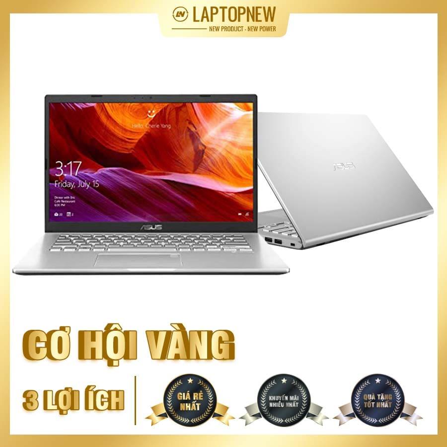 Asus Vivobook A412FA-EK380T (Silver) | i3-8145U | 4GB DDR4 | SSD 512GB PCIe | VGA Onboard | 14.1 FHD | Win10. [DEAL GIÁ MUA]