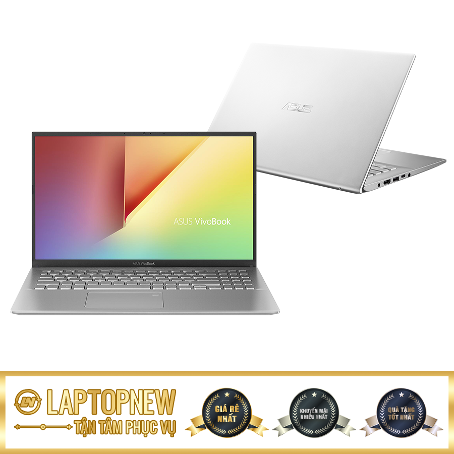 Asus Vivobook A412FA-EK377T (Silver) | i3-8145U | 4GB DDR4 | SSD 256GB PCle | VGA Onboard | 14.1 FHD | Win10. [DEAL GIÁ MUA]