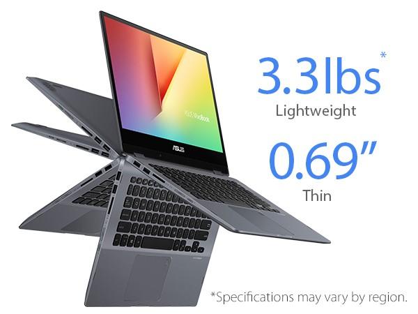 Asus Vivobook Flip TP412FA-EC269T (Grey) | i3-8145U | 4GB DDR4 | SSD 512GB | VGA Onboard | 14 inch FHD Touch | Win10 >>> Deal giá mua, Trả góp 0%
