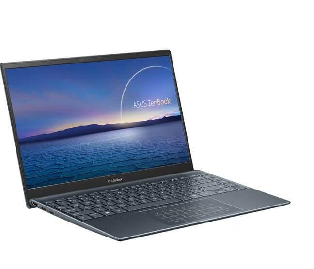 Laptop Asus Zenbook UX425EA KI429T cổng kết nối bên trái