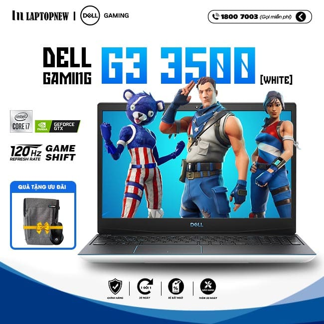 Laptop Dell Gaming G3 15 3500 P89F002BWH khuyến mãi