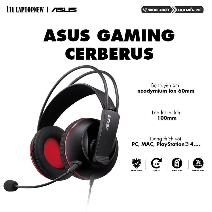 ASUS - Headset Gaming Cerberus