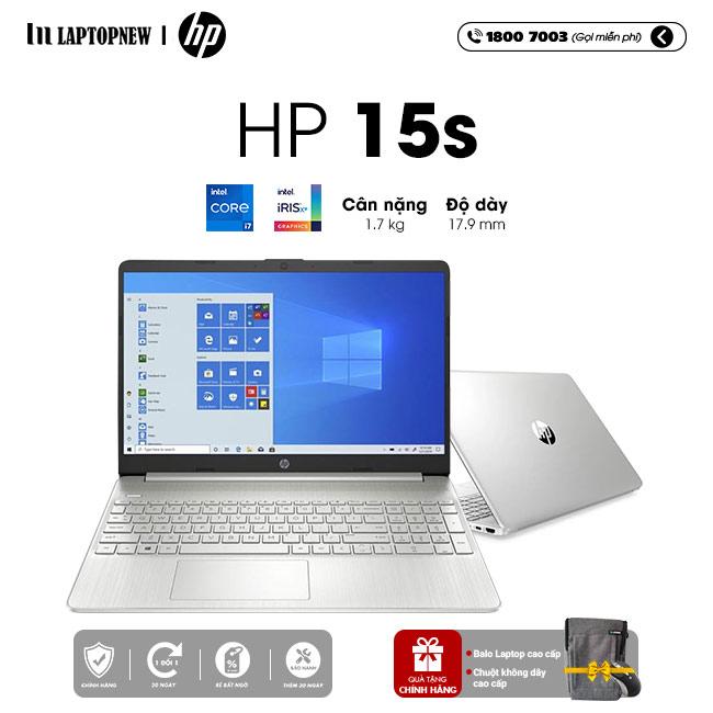 LAPTOP HP 15s fq2045TU khuyến mãi