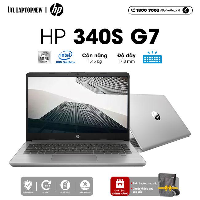 Laptop HP 340s G7 2G5B7PA khuyến mãi