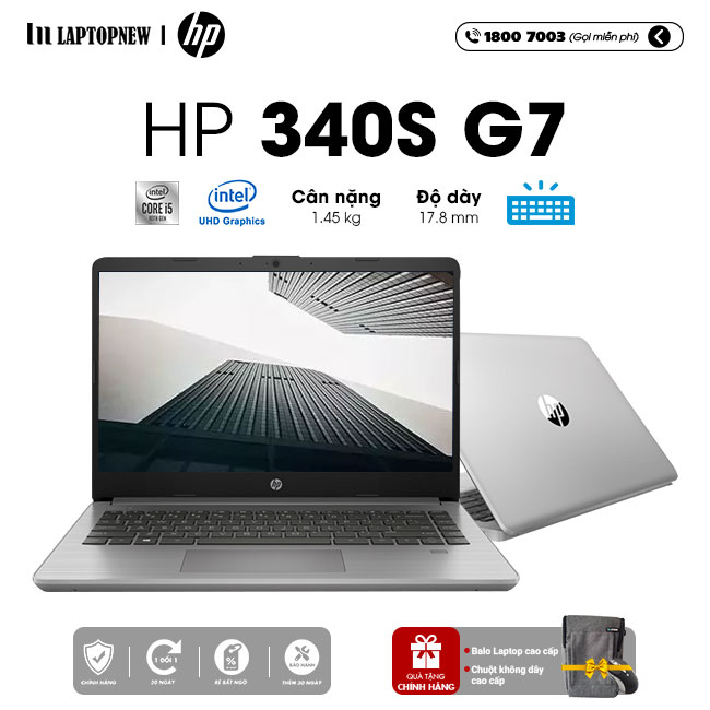 Laptop HP 340s G7 359C3PA khuyến mãi