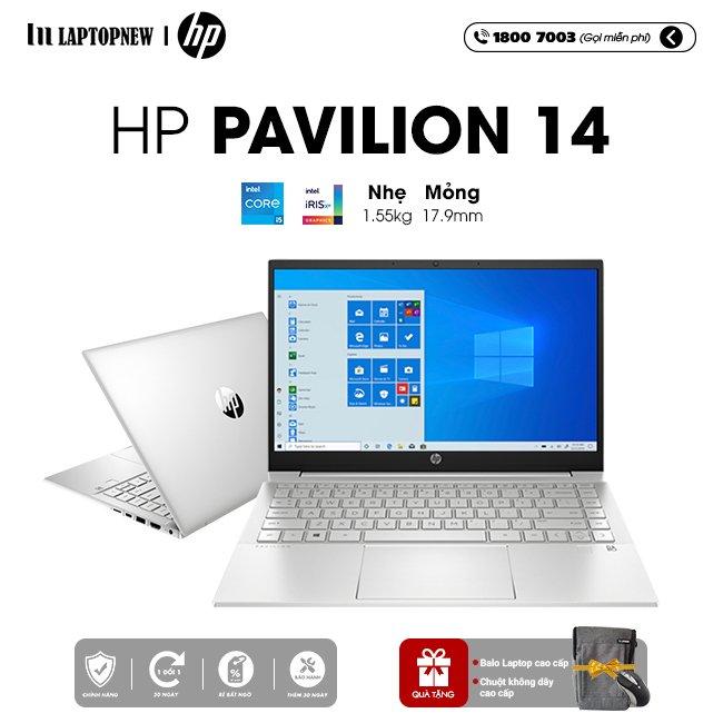 Laptop HP Pavilion 14 dv0536TU khuyến mãi quà tặng