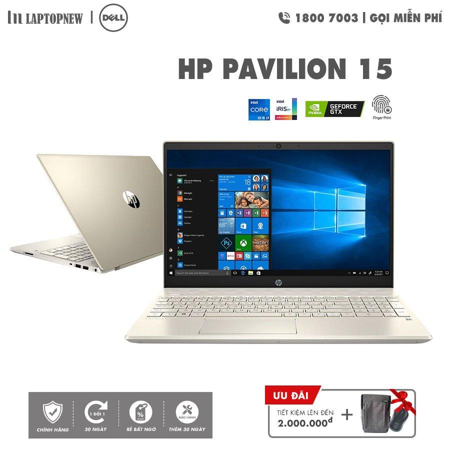 Laptopnew - HP Pavilion 15 - eg0003TX (Gold) khuyến mãi quà tặng