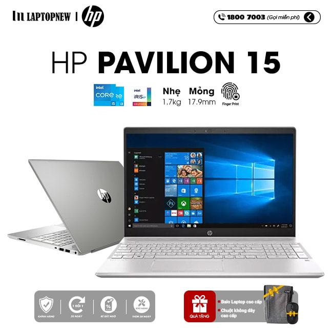 Laptop HP Pavilion 15 eg0007TU khuyến mãi