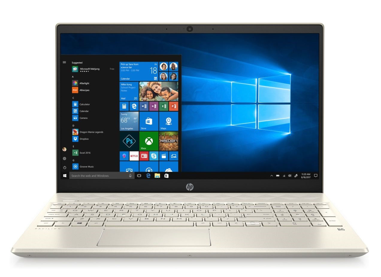 Laptopnew - HP Pavilion 15 - eg0009TU (Gold) màn hình