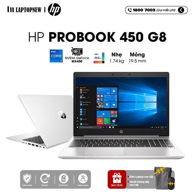 LAPTOP HP Probook 450 G8  2Z6L0PA khuyến mãi