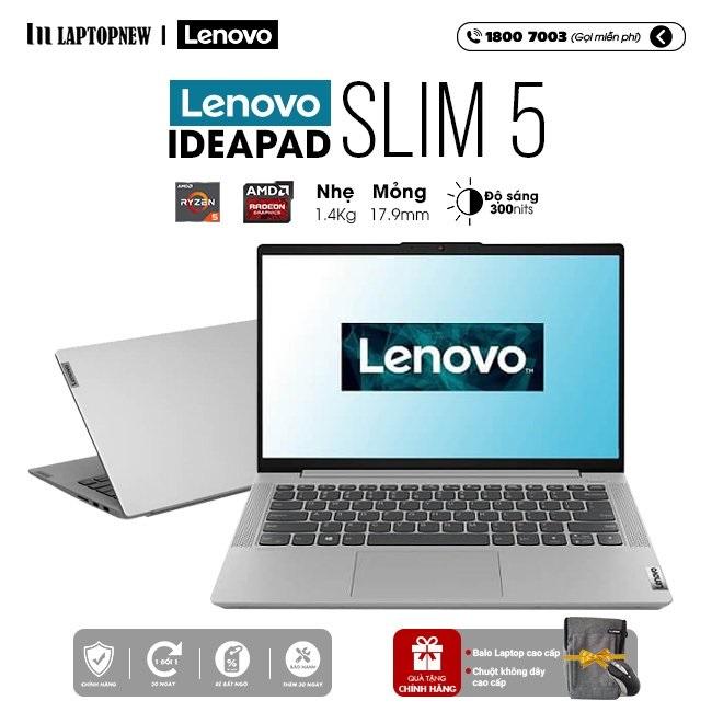 Laptop Lenovo Ideapad Slim 5 14ALC05 82LM004GVN khuyến mãi quà tặng