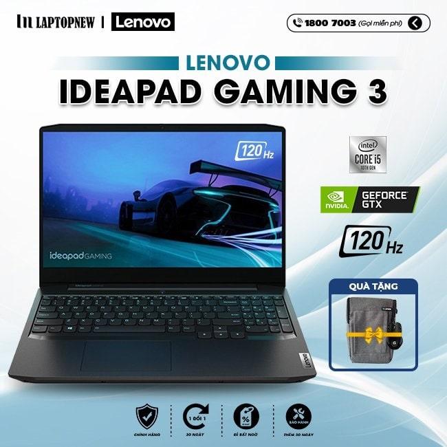 Laptop Lenovo IdeaPad Gaming 3 15IMH05 81Y4006SVN khuyến mãi quà tặng