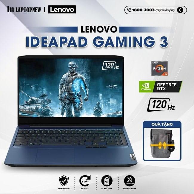Laptop Lenovo ideapad Gaming 3 15IMH05 81Y4013VVN khuyến mãi quà tặng